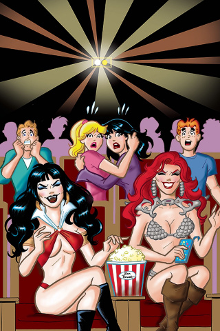 Red Sonja and Vampirella Meet Betty and Veronica #7 (40 Copy Parent Virgin Cover)