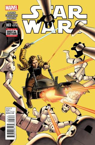 Star Wars #3 (Cassaday 4th Printing)