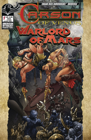 Carson of Venus / Warlord of Mars #1 (Kaluta Cover)
