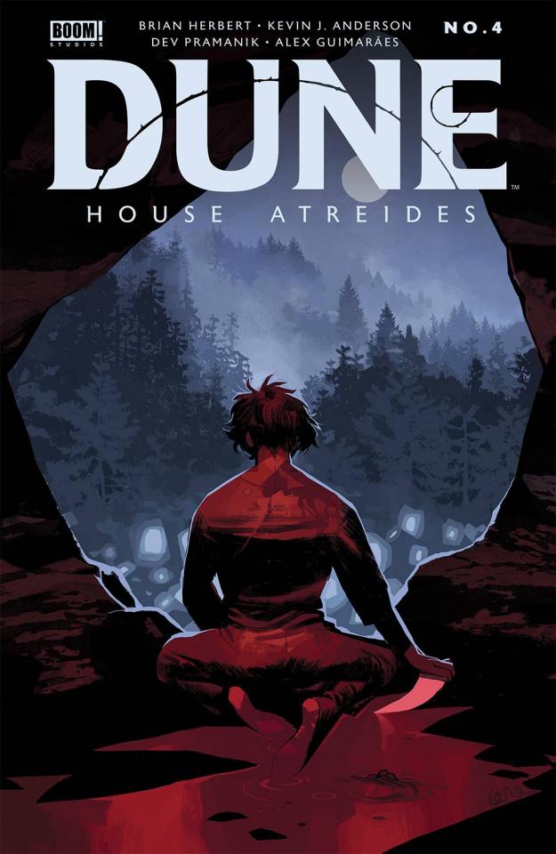 Dune: House Atreides #4 (De Felici Cover)