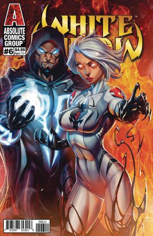 White Widow #6 (Garza Foil Logo Cover)