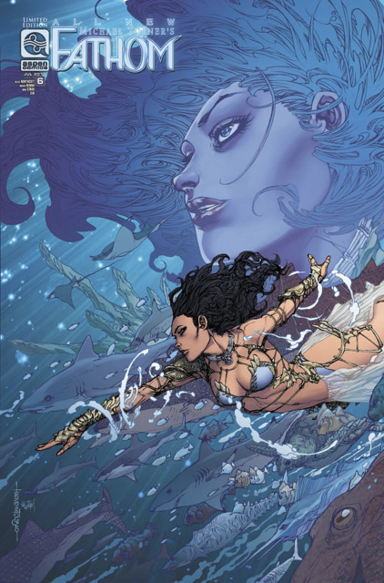 All New Fathom #6 (10 Copy Cover)