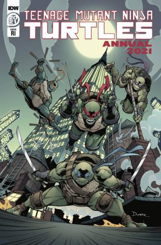 Teenage Mutant Ninja Turtles Annual 2021 (10 Copy Max Dunbar Cover)