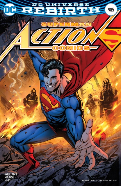 Action Comics #985 (Variant Cover)