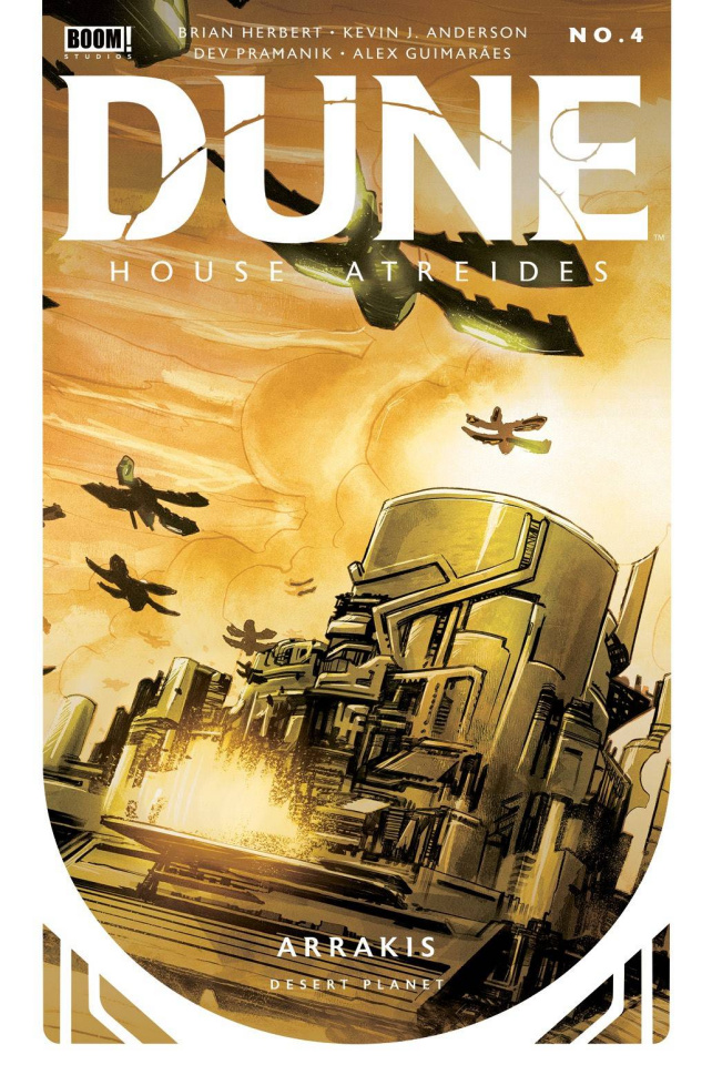 Dune: House Atreides #4 (Pramanik Cover)