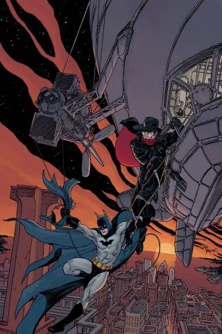 The Shadow / Batman #3 (20 Copy Kaluta Cover)