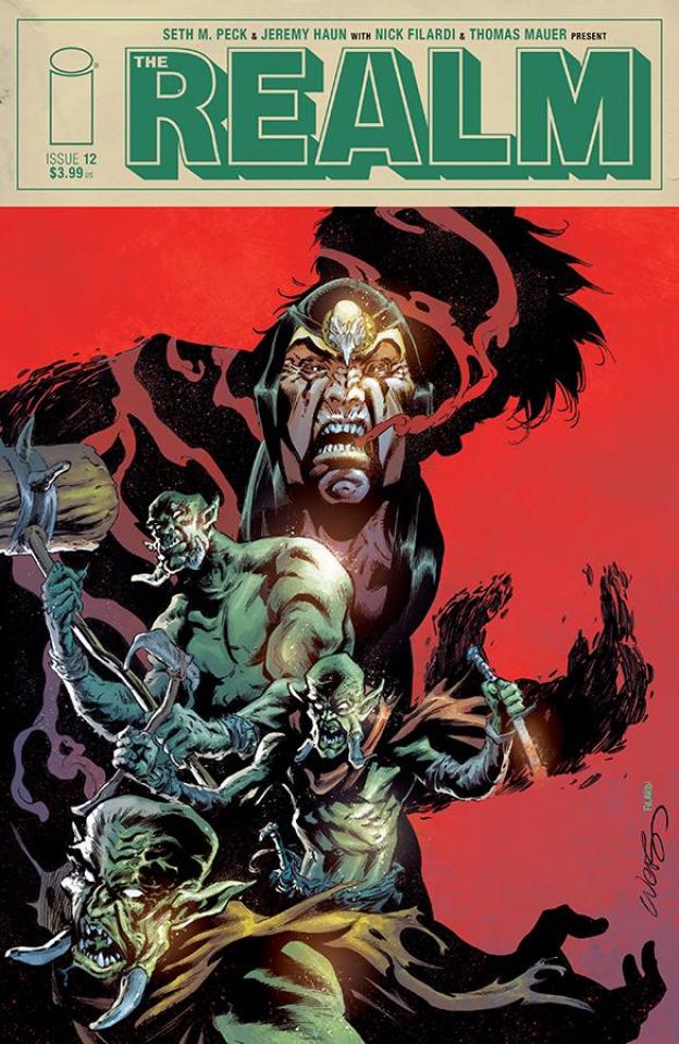 The Realm #12 (Lucas & Filardi Cover)