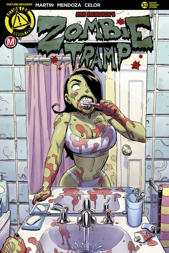 Zombie Tramp #32 (Winston Young Cover)
