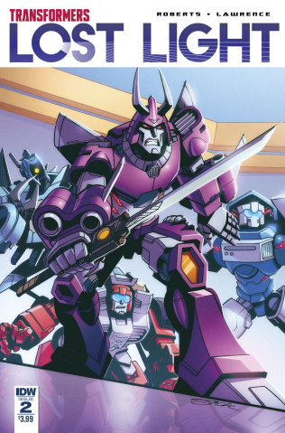 The Transformers: Lost Light #2