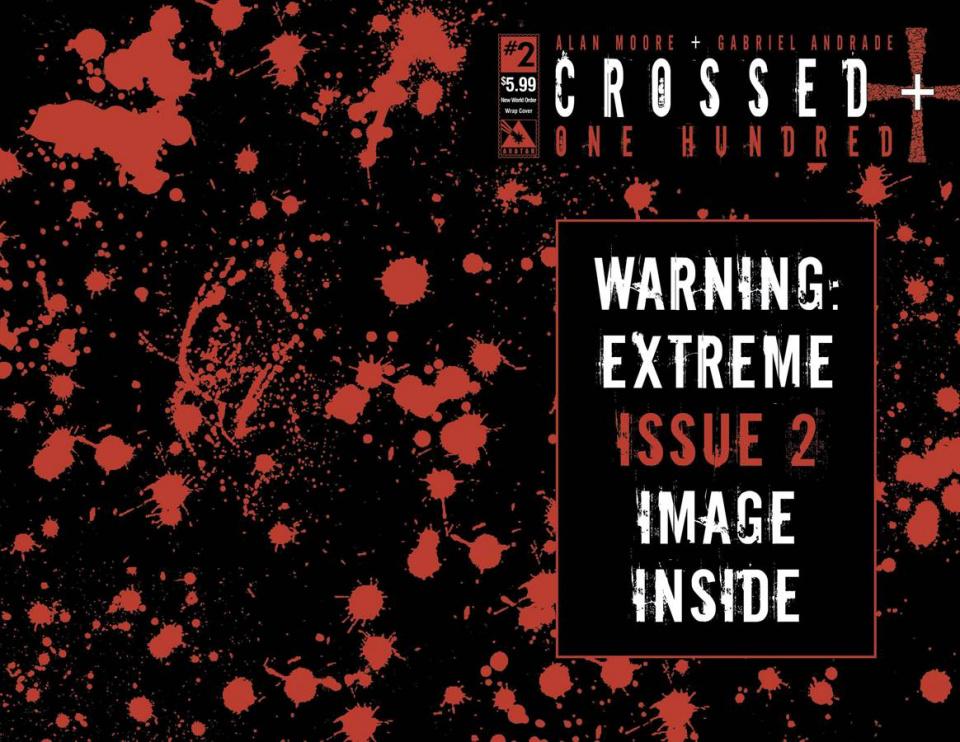 Crossed + One Hundred #2 (New World Order Cover)