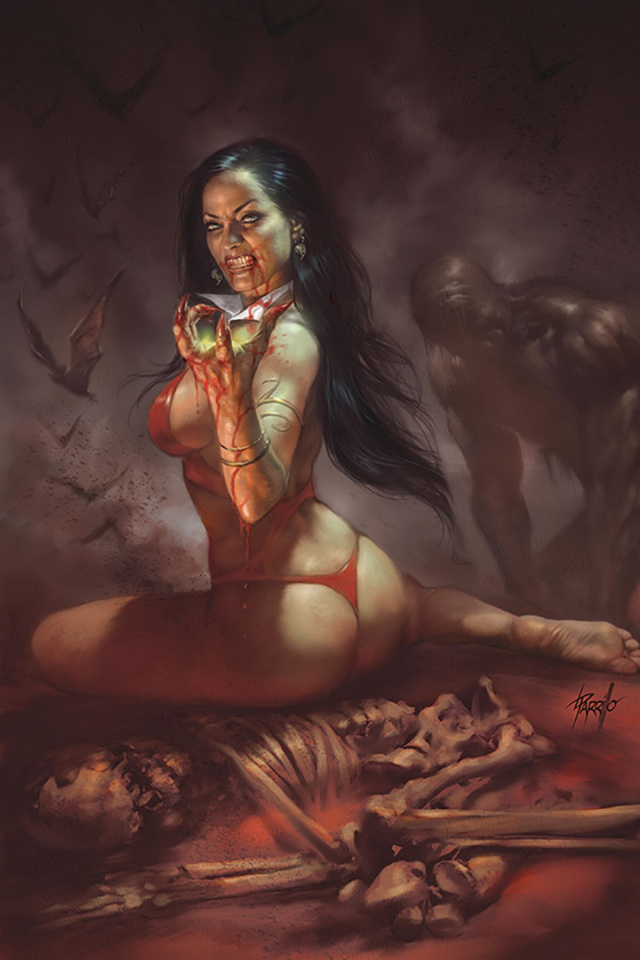 Vengeance of Vampirella #1 (Parrillo Virgin Cover)