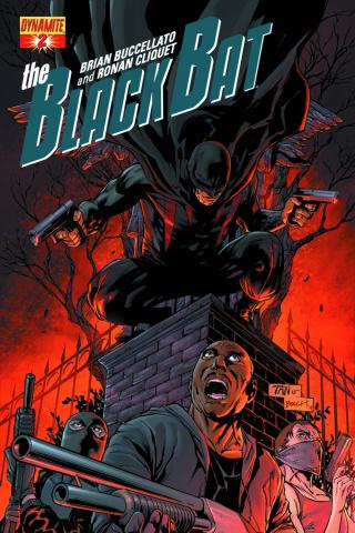 The Black Bat #2 (Tan Cover)