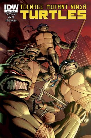 Teenage Mutant Ninja Turtles #53 (10 Copy Cover)