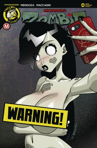 Zombie Tramp #45 (Mendoza Risque Cover)
