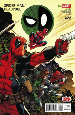 Spider-Man / Deadpool #3 (McGuinness 3rd Printing)