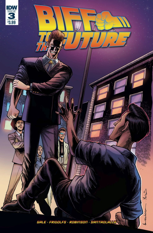 Back to the Future: Biff to the Future #3 (Subscription Cover)