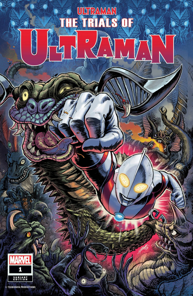 The Trials of Ultraman #1 (Frank Cover)