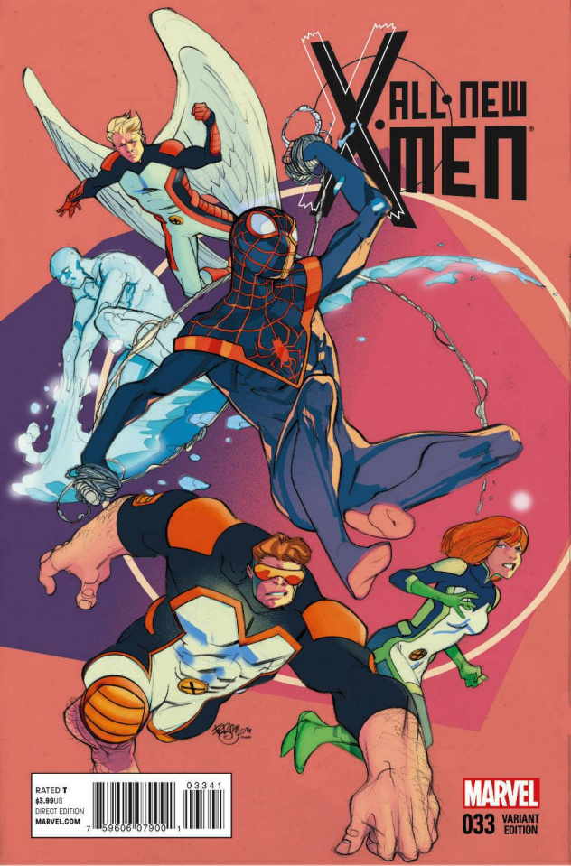 All-New X-Men #33 (Ferry Cover)