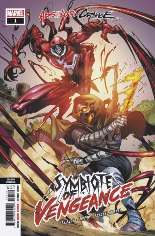 Absolute Carnage: Symbiote of Vengeance #1 (2nd Printing)