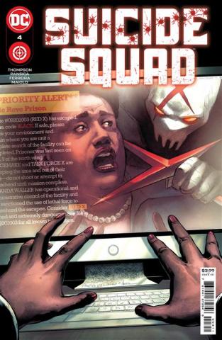 Suicide Squad #4 (Eduardo Pansica Cover)
