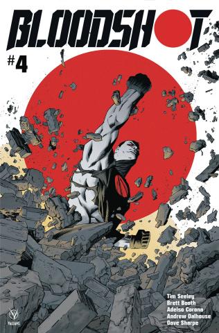 Bloodshot #4 (Shalvey Cover)