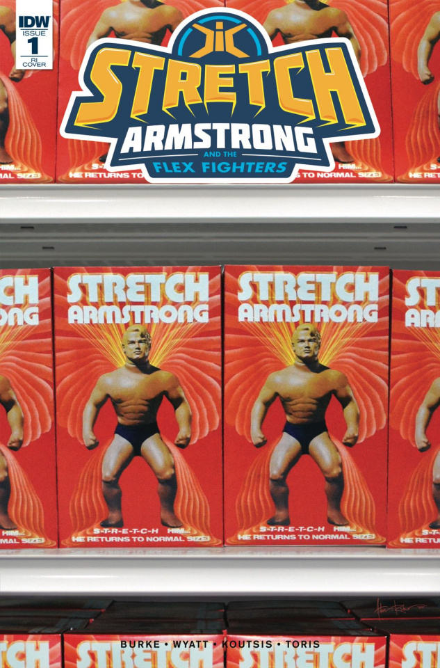Stretch Armstrong and the Flex Fighters #1 (10 Copy Cover)
