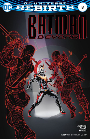 Batman Beyond #8 (Variant Cover)