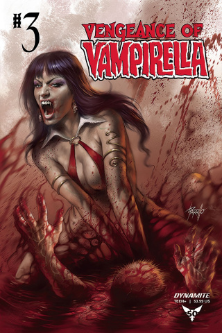 Vengeance of Vampirella #3 (Parillo Cover)