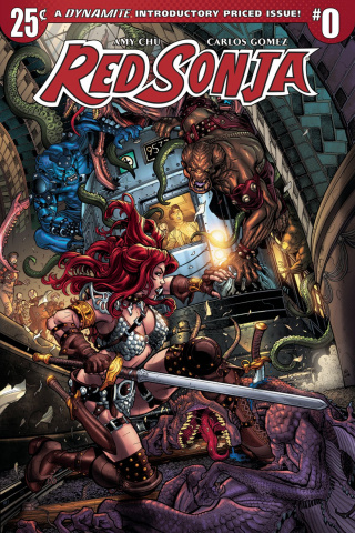 Red Sonja #0 (Bradshaw Cover)