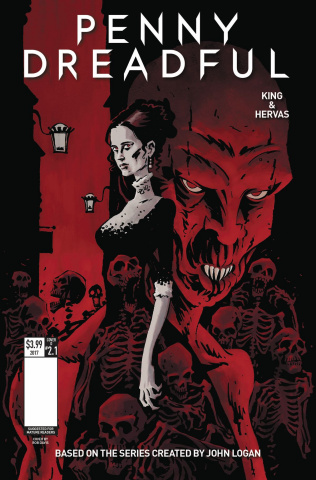 Penny Dreadful #1 (Davis Cover)