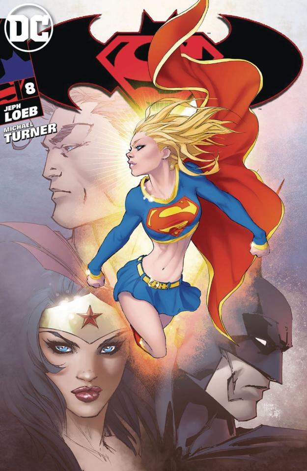 Superman / Batman #8 (Aspen Cover)