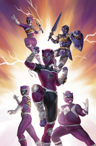 Mighty Morphin' Power Rangers #35 (25 Copy Lithen Cover)