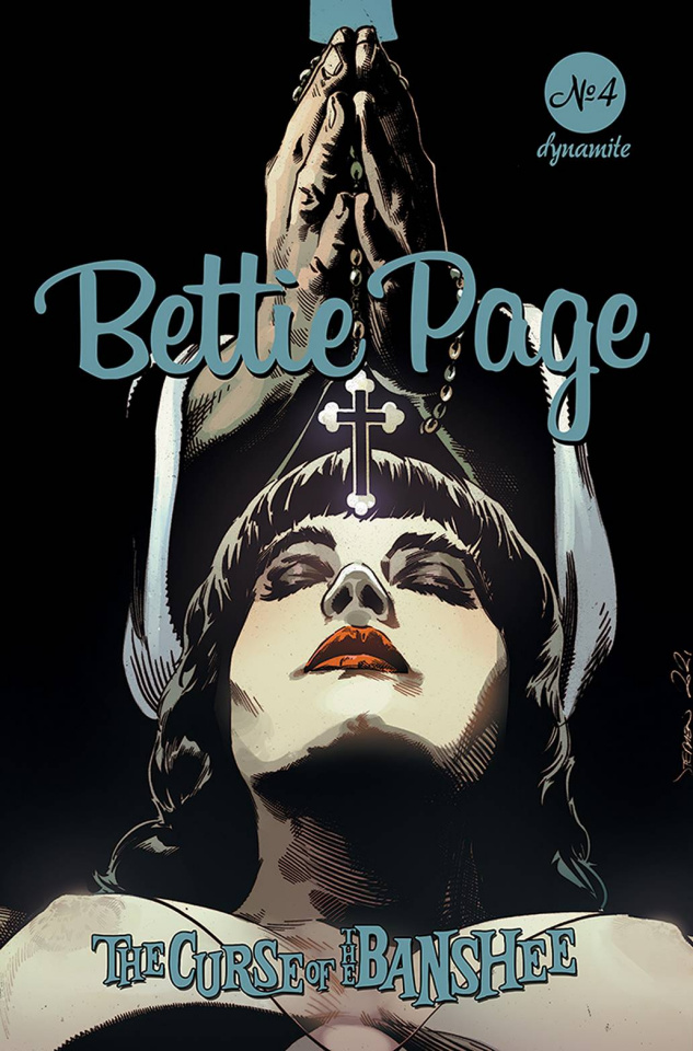 Bettie Page and The Curse of the Banshee #4 (Mooney Cover)