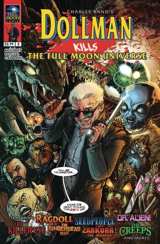 Dollman Kills the Full Moon Universe #5 (Strutz Cover)