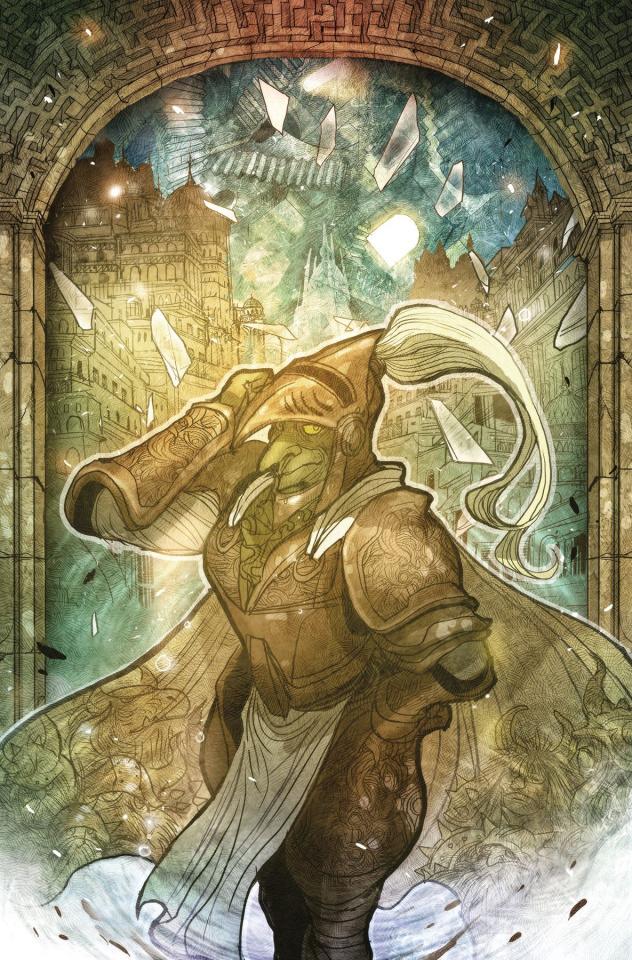 Labyrinth: Coronation #7 (Takeda Cover)