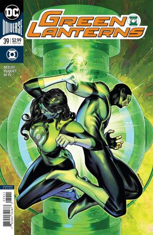 Green Lanterns #39 (Variant Cover)