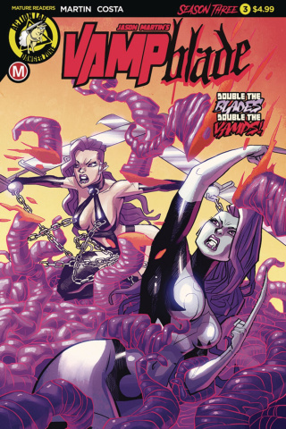 Vampblade, Season Three #3 (Costa Cover)