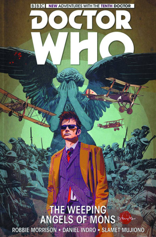 Doctor Who: New Adventures with the Tenth Doctor Vol. 2: The Weeping Angels of Mons