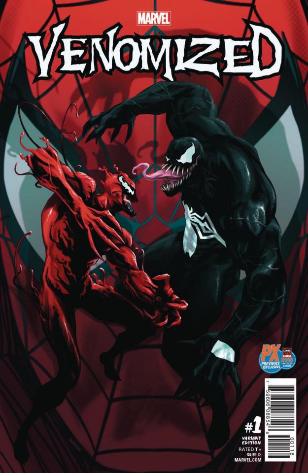 Venomized #1 (C2E2 2018 Andrasofszky Cover)