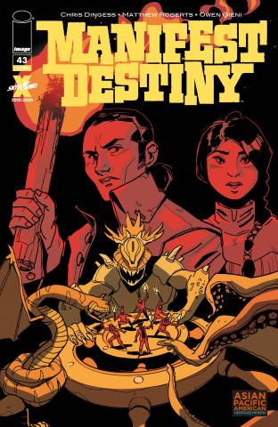 Manifest Destiny #43 (Tefenkgi AAPI Cover)