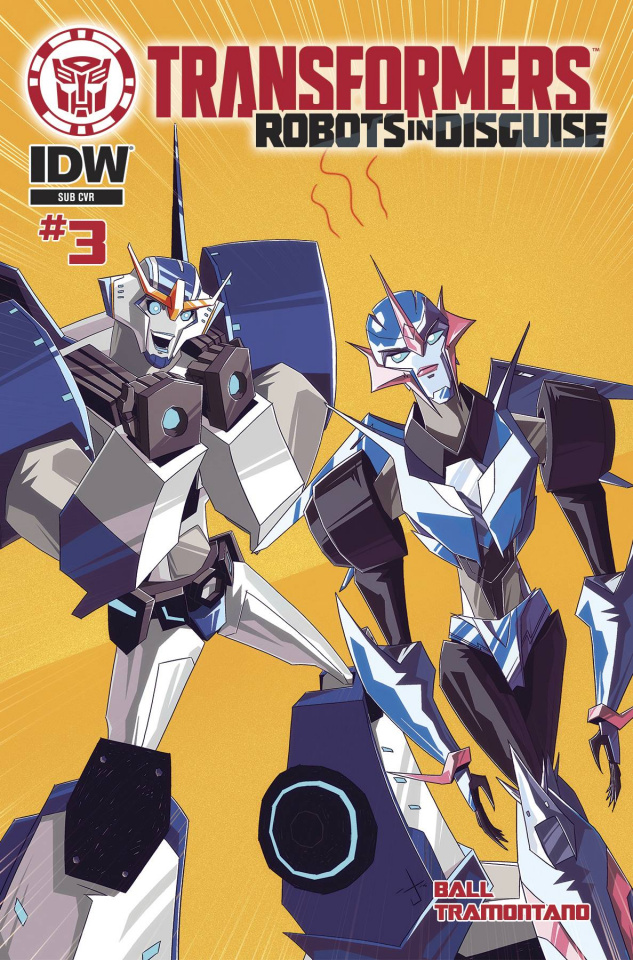 The Transformers: Robots in Disguise Animated #3 (Subscription Cover)