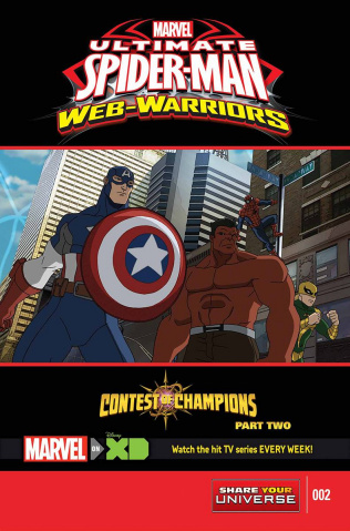 Marvel Universe: Ultimate Spider-Man - The Contest of Champions #2