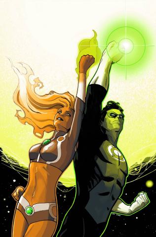Starfire #4 (Green Lantern 75th Anniversary Cover)