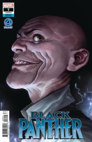 Black Panther #7 (Djurdjevic Fantastic Four Villains Cover)