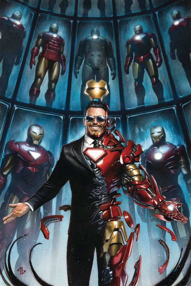 Tony Stark: Iron Man #1 (Granov Cover)