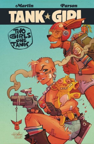 Tank Girl: Two Girls, One Tank #2 (Parson Cover)