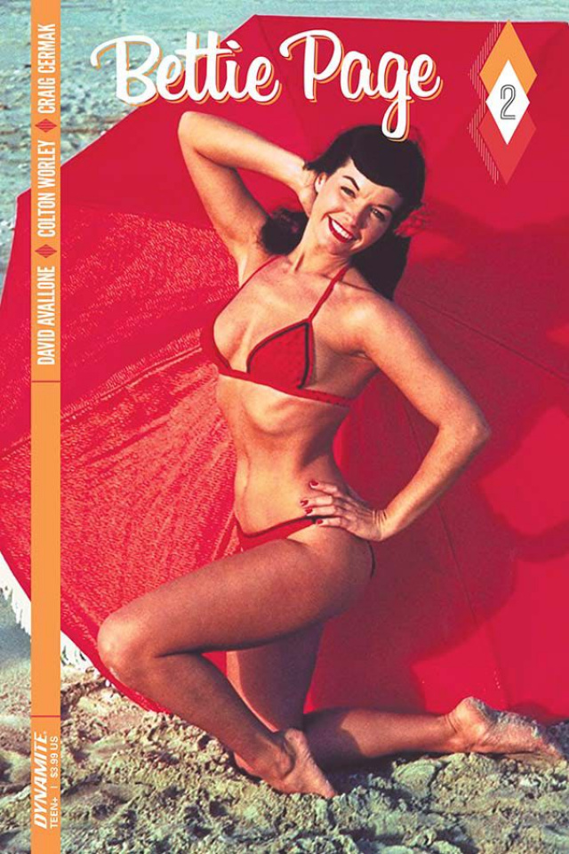 Bettie Page #2 (Photo Cover)