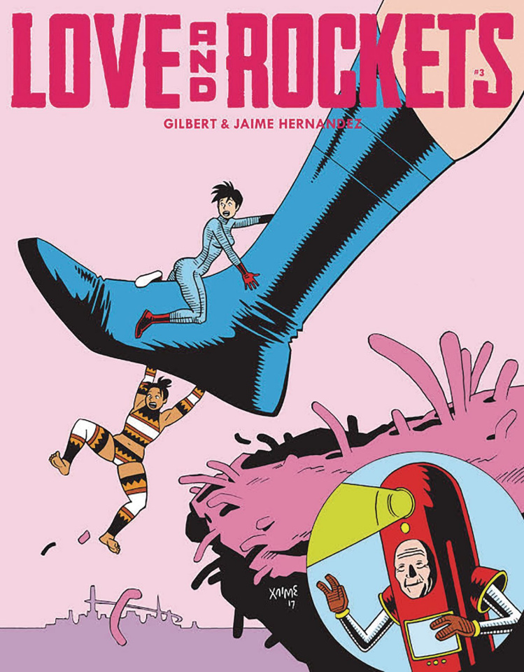 Love and Rockets Magazine #3