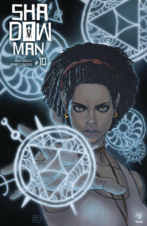 Shadowman #10 (Sainasix Cover)