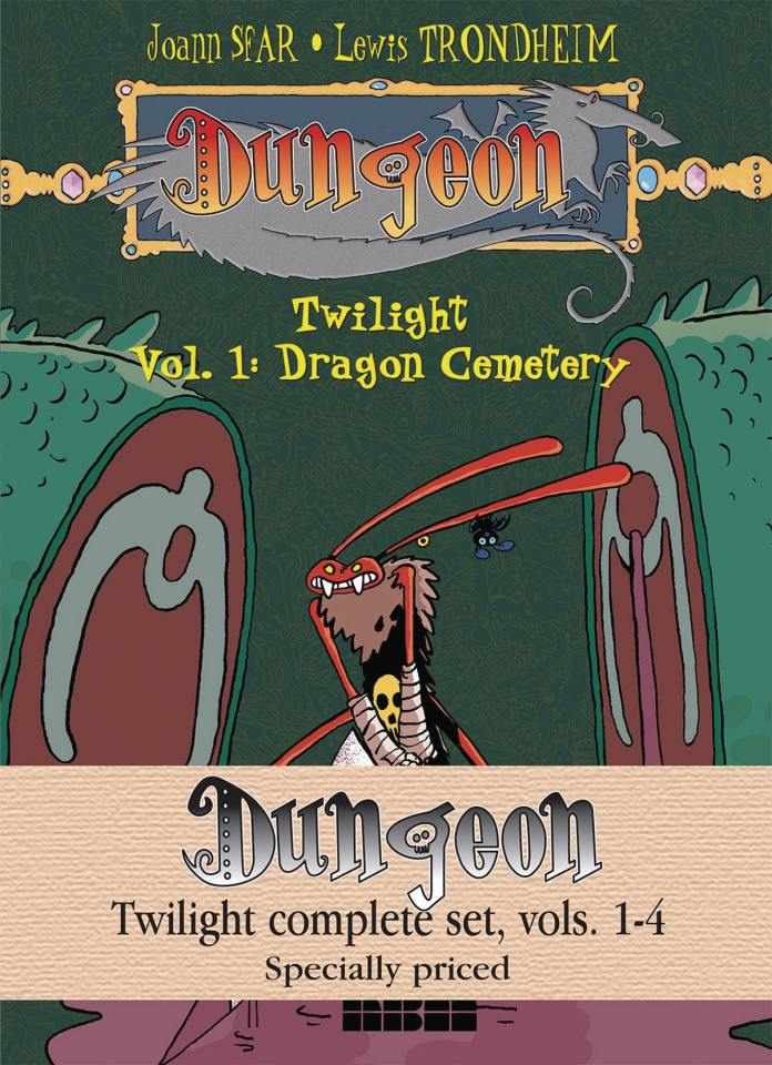Dungeon: Twilight Vols. 1-4 (Complete Set)